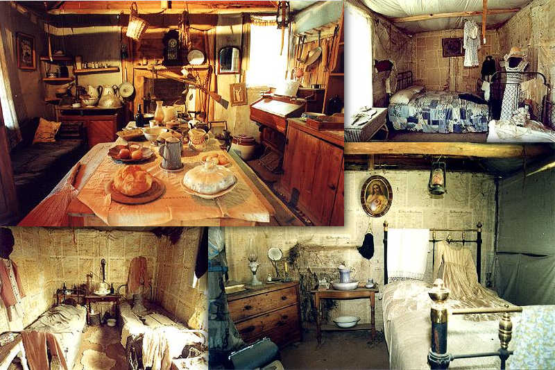 Replica Homestead Kitchen And Bedrooms