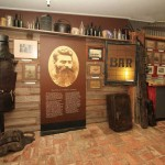 Museum entry, armour and Bar